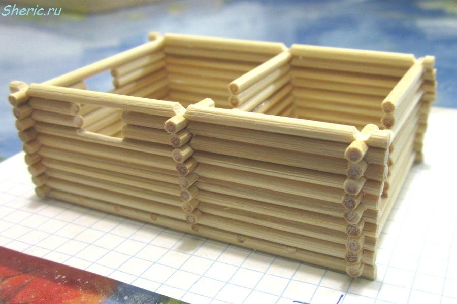 Как сделать макеты зданий своими руками